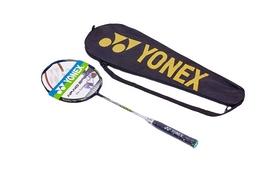 Ракетка для бадминтона профессиональная Yonex BD-5671-1 серо-черная