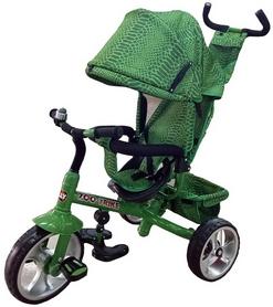 "Велосипед трехколесный Baby Tilly Zoo-Trike - 12"", зеленый (T-342* GREEN)"