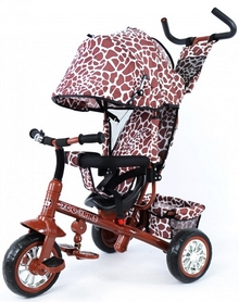 Велосипед трехколесный Baby Tilly Zoo-Trike T-342 коричневый
