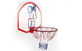 Фото 2 к товару Щит баскетбольный с кольцом и сеткой BA-3522 (90х60 см)