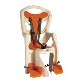 Велокресло детское Bellelli Pepe Standart Multifix бежевое с оранжевым