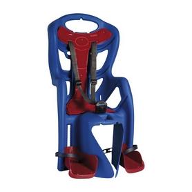 Велокресло детское Bellelli Pepe Сlamp синее с красным