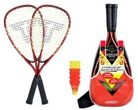 Набор для бадминтона (2 ракетки, 6 воланов) Talbot Torro Speedbadminton Set Speed 5000