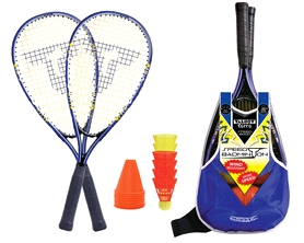 Набор для бадминтона (2 ракетки, 6 воланов) Talbot Torro Speedbadminton Set Speed 6000