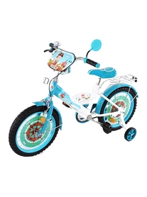 "Велосипед детский Baby Tilly T-21625 ""Корсар"" 16"" white/blue"