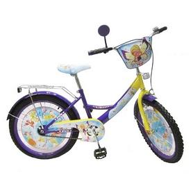"""Велосипед детский Baby Tilly T-22022 """"Волшебница"""" 20"""" purple/yellow"""