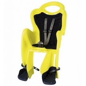 Велокресло детское Bellelli Mr Fox Relax Multifix неоново-желтое