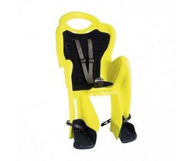 Велокресло детское Bellelli Mr Fox Standart B-fix неоново-жёлтое
