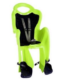 Велокресло детское Bellelli Mr Fox Standart салатово-серое