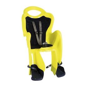 Велокресло детское Bellelli Mr Fox Сlamp неоново-жёлтое