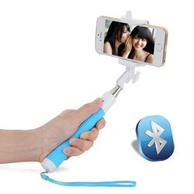 Монопод для селфи со встроeнным Bluetooth UFT SS22 Light Blue