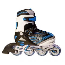 Коньки роликовые Maraton Cool Slide 1401-В синие