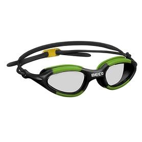Очки для плавания Beco Atlanta 9931 08 черно-зеленые