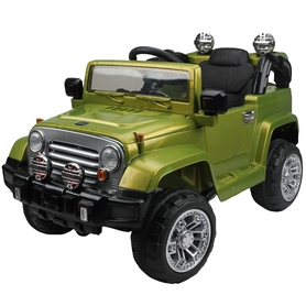 Детский электромобиль джип Baby Tilly T-7813 Green