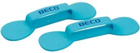 Гантели для аквафитнеса Beco BEflex бирюзовые