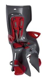 Велокресло детское Bellelli Summer Standart Multifix серое/красное