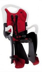 Велокресло детское Bellelli Tiger Relax B-fix черно-белое/красное
