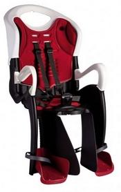 Велокресло детское Bellelli Tiger Standart B-fix черно-белое/красное