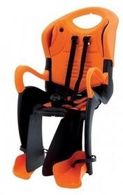 Велокресло детское Bellelli Tiger Standart B-fix черное/оранжевое