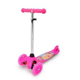 Фото 1 к товару Самокат трехколесный Maraton Mini Розовый