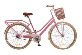 """Велосипед городской женский Dorozhnik Comfort Female 14G 28"""" 2017 персиковый, рама - 19"""""""