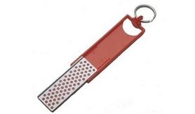 Точилка-брелок алмазная DMT Angler Mini-Sharp красная