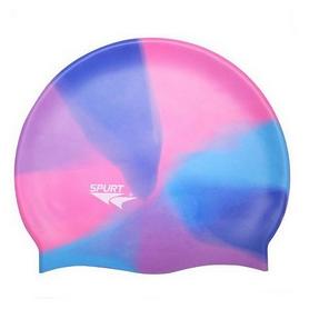 Шапочка для плавания Spurt Multi ММ118 синяя