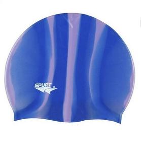 Шапочка для плавания Spurt Zebra М19 фиолетовая