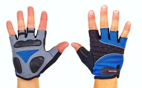 Распродажа*! Велоперчатки текстильные Scoyco BG03-B синие XL