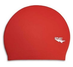 Шапочка для плавания Spurt Solid color FG511 red