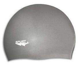 Шапочка для плавания Spurt Solid color G107 grey