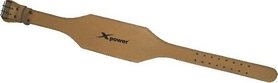 Пояс для пауэрлифтинга X-power 9505 Natural