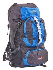 Рюкзак туристический Color Life 106-B 75 л синий