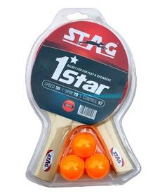 Набор для настольного тенниса Stag One Star Play Set Two Bats TTRA-329
