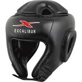 Шлем боксерский Excalibur 701 Black