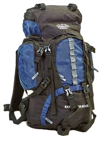 Рюкзак туристический Color Life 112-DB 65 л темно-синий