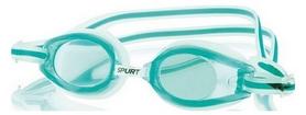 Очки для плавания Spurt 1300 AF 03 прозрачно-зеленые