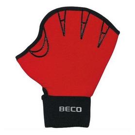 Перчатки для аквафитнеса Beco 9634 красные, размер - М