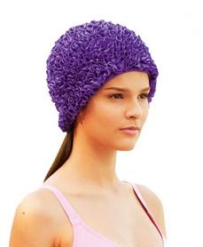 Шапочка для плавания женская Beco 7611 77 фиолетовая