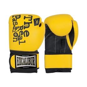 Перчатки боксерские Excalibur 520 желтые