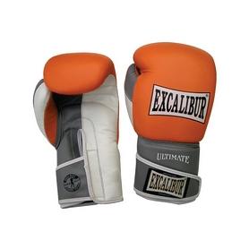 Перчатки боксерские Excalibur 551-04 оранжевые