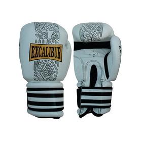 Перчатки боксерские Excalibur 551-04 белые - 12oz