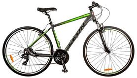 """Велосипед горный Leon HD-85 AM 14G 28"""" 2017 серый, рама - 21"""""""
