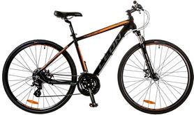 """Велосипед горный Leon HD-80 AM DD Hydraulic 14G 28"""" 2017 черно-оранжевый, рама - 21"""""""