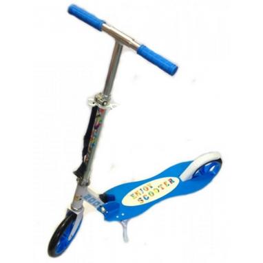Самокат двухколесный Scooter Boomer синий