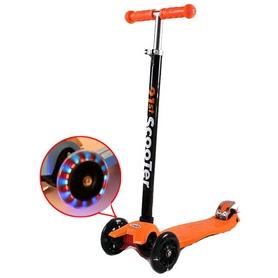 Фото 1 к товару Самокат трехколесный с наклоном руля 21st Scooter Z-37 оранжевый