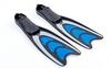Ласты с закрытой пяткой Dorfin (ZLT) синие, размер - 42-43 - фото 2