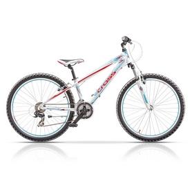 """Велосипед подростковый горный Cross Speedster Girl 26"""" 2015 белый, рама - 13"""""""