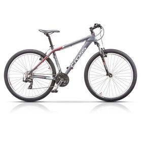 "Велосипед горный Cross GRX 7 27.5"" 2015 серый, рама - 20"""