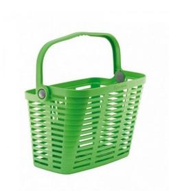 Корзина велосипедная Bellelli Plaza Verde Giallastro BSK-23 зеленая